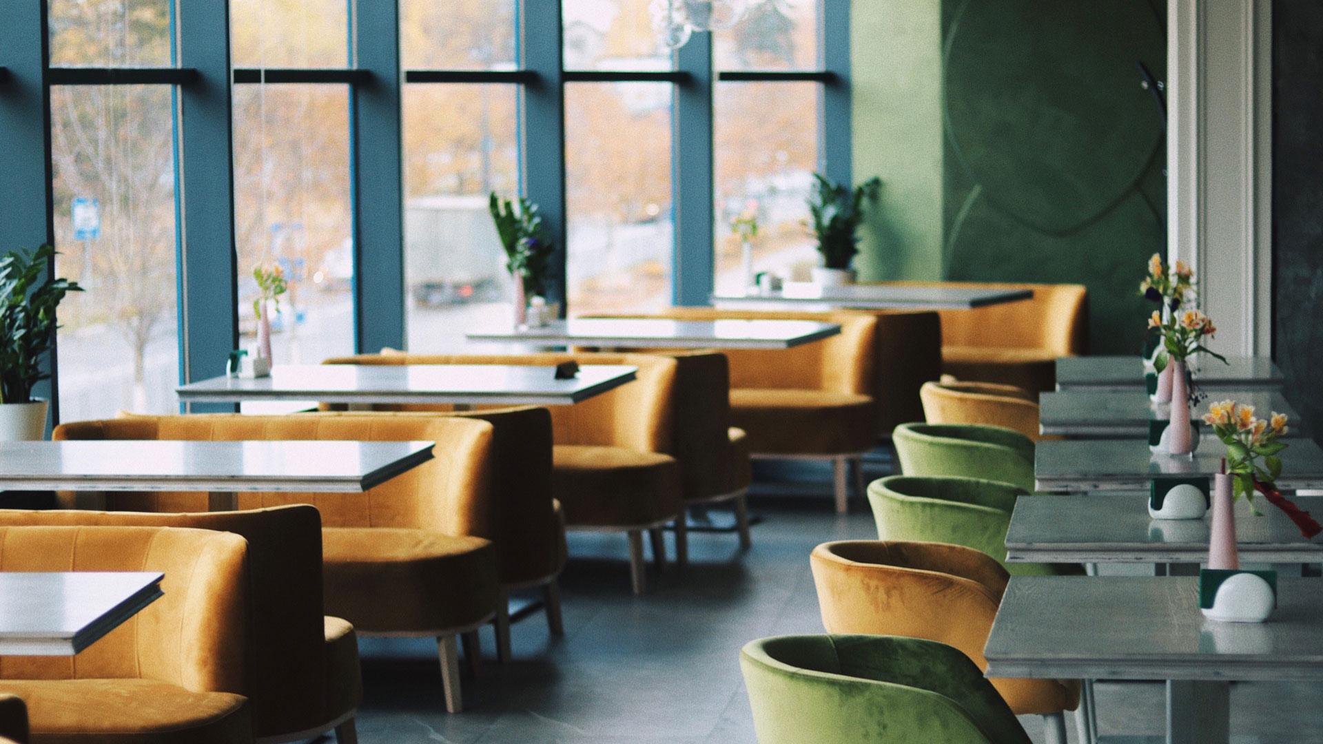 Интерьер кафе-бар Баранка г. Одинцово